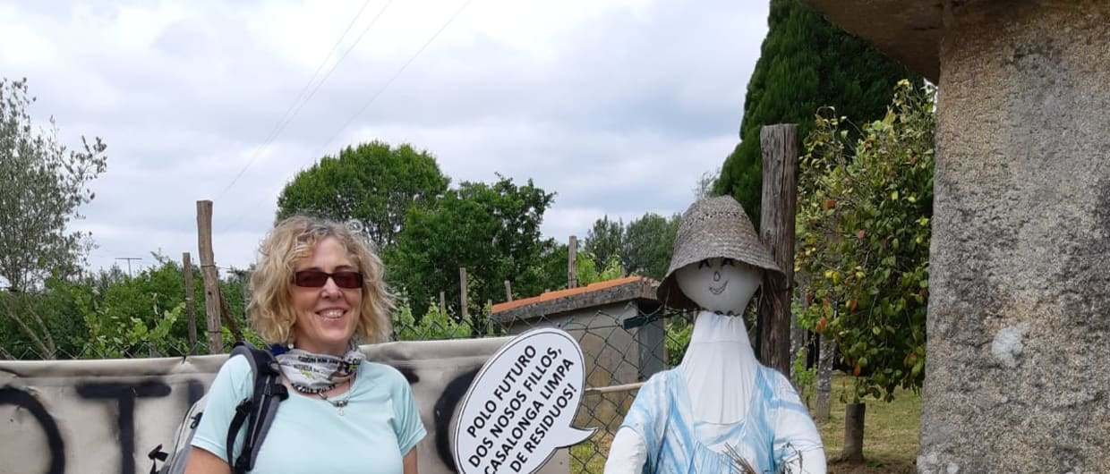 114km for One in Four; Antoinette's Camino Experience